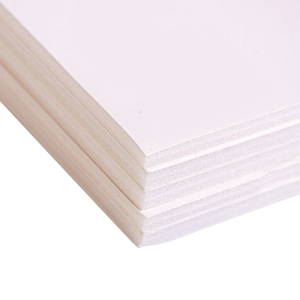 CLAIREFONTAINE WHITE FOAM BOARD, A2, 5MM THICKNESS, 20 BOARDS PER PACK
