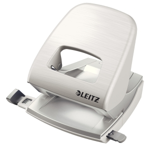 Leitz NeXXt Style 5006 Series 30 Sheet 2 Hole Punch Arctic White
