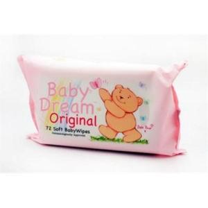 Babydream Sensitive Wipes Pk72