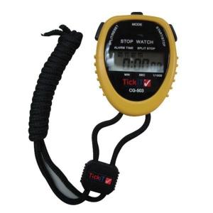 Water Resistant Stopwatch Black