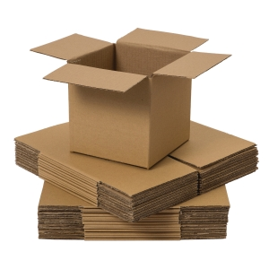 DOUBLE WALL CARD BOARD BOX 254x254x254MM - PACK OF 15