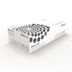 Black Pearl 2502 Nitrile PowderFree Disposable Glove Black XL (Box of 100)