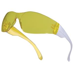 DELTAPLUS BRAVA2JA SAFETY GLASSES YELLOW LENS