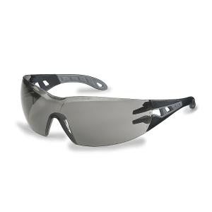 Uvex 9192.786 Pheos Small Safety Spectacles  Grey Sun glare Lens