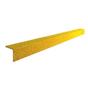 Cobagrip Stair Nosing  Yellow 1Mx55mmx55mm