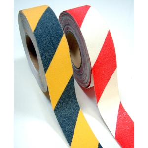 Coba Gripfoot Tape  Red/White 50mm X 18.3M