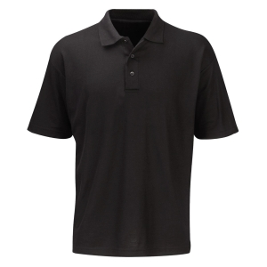 Polo Shirt Lightweight Black Large