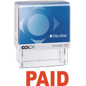 Colop P20Mb Paid Self-Inking Stamp
