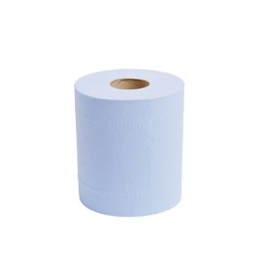 Blue 2 Ply Centrefeed Roll 190mm X 150M - Pack of 6