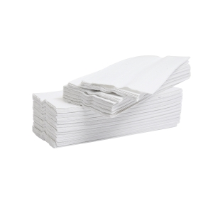 White 2 Ply C-Fold Hand Towels - Pack of 2376