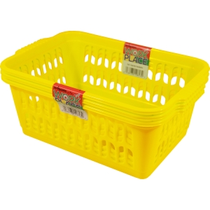 Handy Basket 30X20X11 Gold