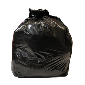 BLACK 18 X 32 X 38 INCH 80 LITRE HEAVY DUTY WASTE SACK - PACK OF 200