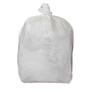 CHSA WHITE 11  X 17  X 17  PEDAL BIN BAG - PACK OF 5 ROLLS OF 100