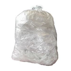 CHSA CLEAR 15 X 24 X 24  SQUARE BIN BAG - PACK OF 5 ROLLS OF 100