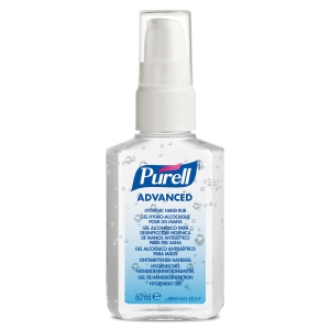 Purell Advanced Hygienic Hand Rub Pump Bottle Personal Issue 60ml - Pack of 24