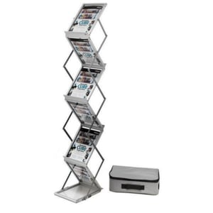 Deflecto A4 Folding Floor Stand