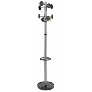 ALBA PMSTAN3 M FREE STANDING HAT AND COAT STAND METAL