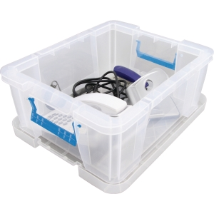 Whitefurze Allstore Box Pp 24L Clear