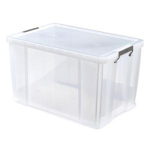 Whitefurze Allstore Box Pp 85L Clear