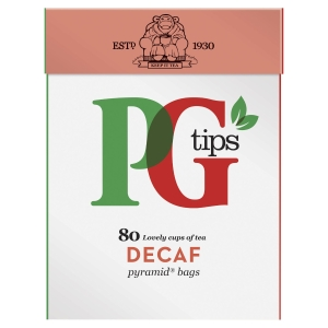 PG Tips Decaf Pyramid Tea Bags - Pack of 70