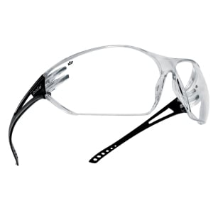 Bolle Safety Glasses Slam Slapsi Clear