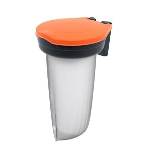 Skipper Orange Recycling Bin