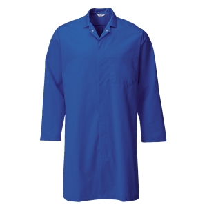 Alsico D200 Food Trade Coat Royal Blue Size 132 cm