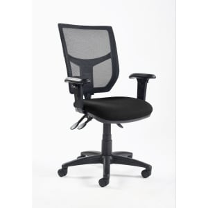 Black High Back Mesh Chair