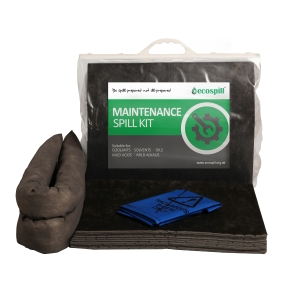ECOSPILL M1290030 PREMIER MAINTENANCE CLIP TOP SPILL KIT 30L