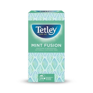 Tetley Mint Fusion Tea Bags - Pack Of 25