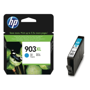 HP 903XL High Yield Cyan Original Ink Cartridge (T6M03AE)