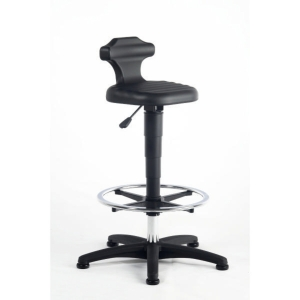 Interstuhl Black Draughtsman s Sit Stand Chair