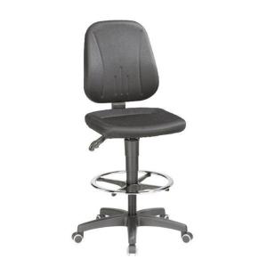 Interstuhl Black Draughtsman s Swivel Chair