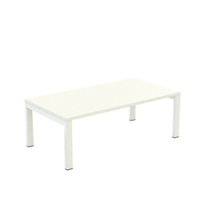 PAPERFLOW EASYDESK WHITE RECEPTION TABLE 1140MM X 600MM