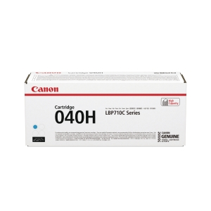 CANON 040H HIGH YIELD LASER CARTRIDGE CYAN