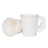 PAPER CUP WITH HANDLE 8 OUNCE PACK OF 50