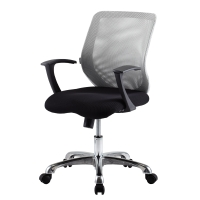 ZINGULAR CHRISTINA OFFICE CHAIR GREYBLACK COLOURS