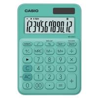 CASIO เครื่องคิดเลขชนิดตั้งโต๊ะ MS-20UC-GN 10 หลัก เขียว
