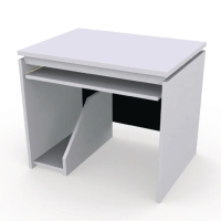 DESUKU โต๊ะคอมพิวเตอร์ รุ่น FX800CU 80X80X75 ซม. ซ้าย