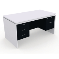 DESUKU โต๊ะทำงาน รุ่น FX1523 150X80X75 ซม.
