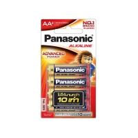 PANASONIC ถ่านอัลคาไลน์ LR6T/4B AA 1 แพ็ค บรรจุ 4 ก้อน