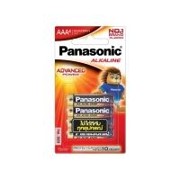 PANASONIC ถ่านอัลคาไลน์ LR03T/4B AAA 1 แพ็ค บรรจุ 4 ก้อน