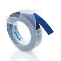 DYMO PLASTIC LABLES 9MM X 3M BLUE