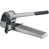 LEITZ 5182 SUPER HEAVY DUTY 2-HOLE PAPER PUNCH SILVER 250 SHEETS