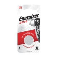 ENERGIZER CR2016 LITHIUM BATTERY 3 VOLT