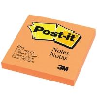 POST-IT 654 NEON NOTES 3   X 3   - NEON ORANGE