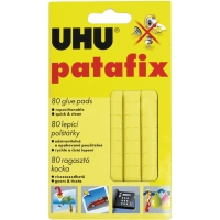 UHU PATAFIX ADHESIVE GLUE TACK YELLOW 60G - PACK OF 80
