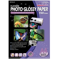 HI-JET PLATINUM PHOTO GLOSSY PAPER A4 150G - PACK OF 20