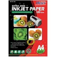 HI-JET กระดาษอิงค์เจท EXTRA2000 A4120 แกรม1 แพ็ค บรรจุ 100แผ่น