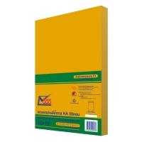 555 ซองเอกสารกระดาษคราฟท์น้ำตาล KA125 แกรม 10  x15   50 ซอง